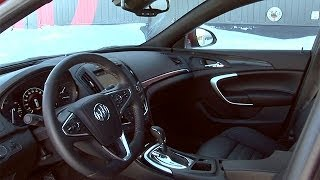 2014 Buick Regal Interior Review