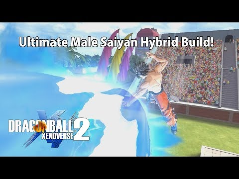 Ultimate Male Saiyan Hybrid Build Xenoverse 2 (NEW VIDEO WITH ALL DETAILS IN DESCRIPTION)