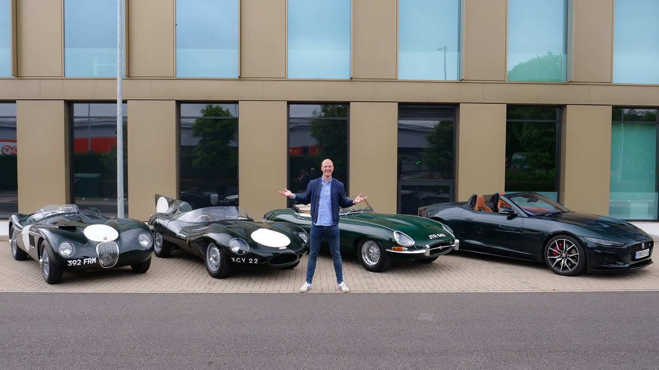 THIS Is Why I NEED A Classic Car: Jaguar C Type, D Type, E Type & F Type!!