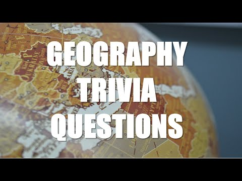 Hard Geography Quiz | Hard Geography Trivia