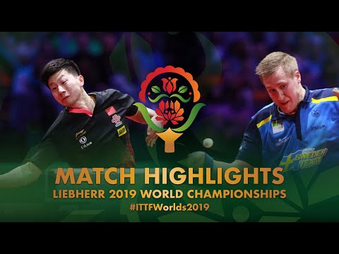 Ma Long Vs Mattias Falck | 2019 World Championships Highlights (Final)