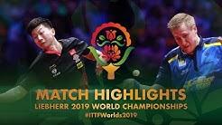 Ma Long vs Mattias Falck | 2019 World Championships Highlights (Final)