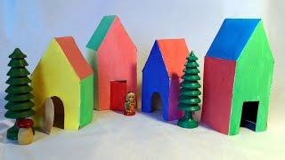 Create A Fun Rainbow Cardboard Township - Diy Crafts - Guidecentral