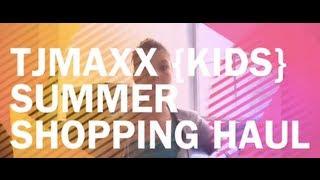 Repeat youtube video TJMaxx {Kids} Summer Shopping Haul - 2013 Maxxinista