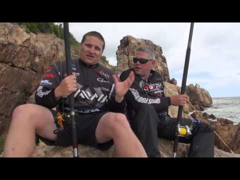 "ASFN Rock & Surf - Team DAIWA fishing "" The Mountain"" Gordons bay, Cape Town"