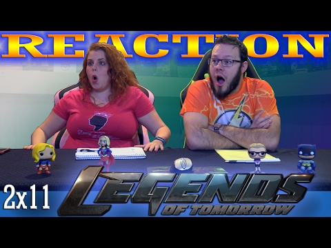 """Legends of Tomorrow 2x11 REACTION!!  """"Turncoat"""""""