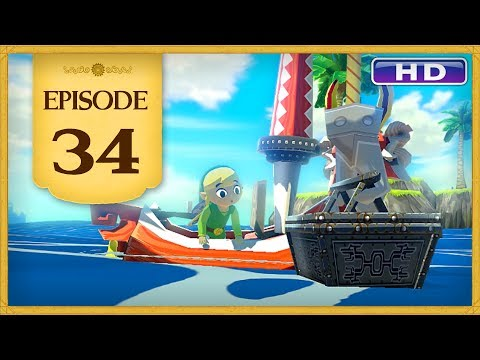 The Legend of Zelda: The Wind Waker HD - Episode 34 | Treasure Charting