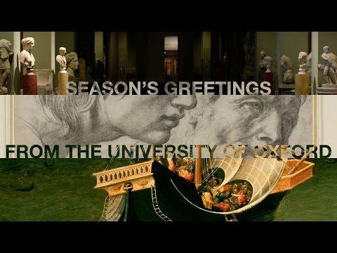 Seasons greetings from Oxford