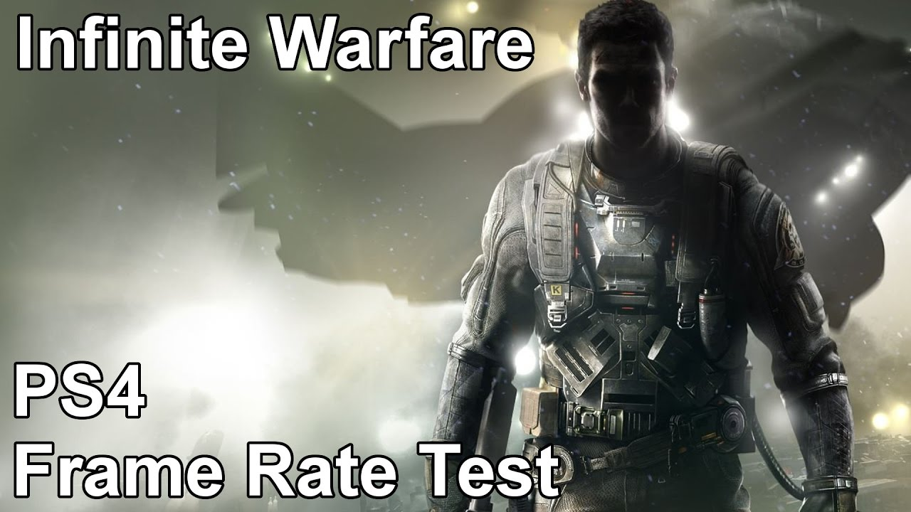 Call Of Duty Infinite Warfare Ps4 Frame Rate Test Youtube