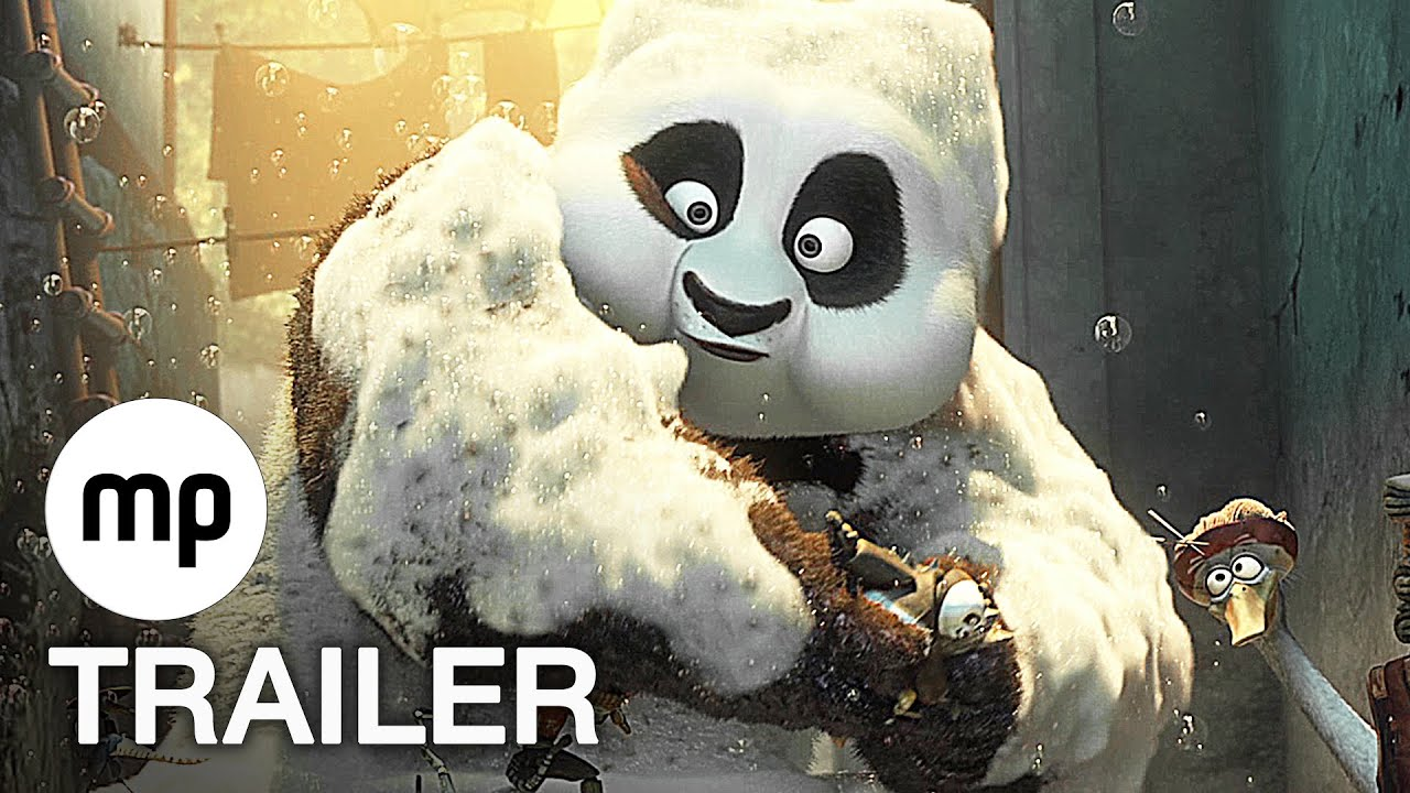 KUNG FU PANDA 3 Trailer 2 German Deutsch (2016)