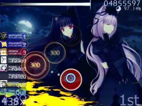 osu! Multiplayer ~ Baracuda - La Di Da (Nightcore Mix)