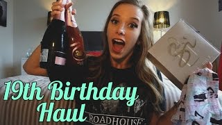 19th Birthday Haul! | TillyExalted