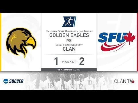 SFU Clan Women's Soccer vs. CSULA - September 4, 2017