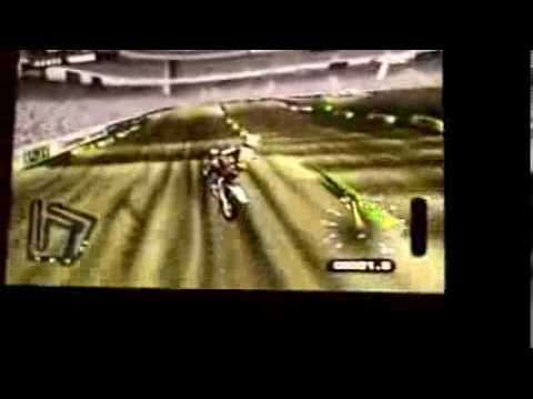 Markynho jogando Mx Unleashed no Ps2