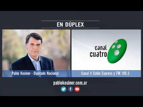 Entrevista a Pablo Kosiner por Canal 4 Cable Express
