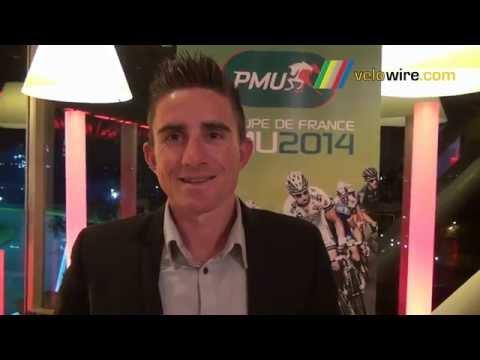 Interview Samuel Dumoulin (AG2R La Mondiale), 2ème de la Coupe de France PMU 2014