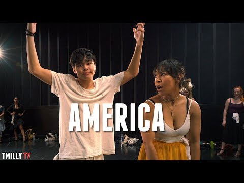 West Side Story - AMERICA - Choreography by Galen Hooks - TMillyTV Dance