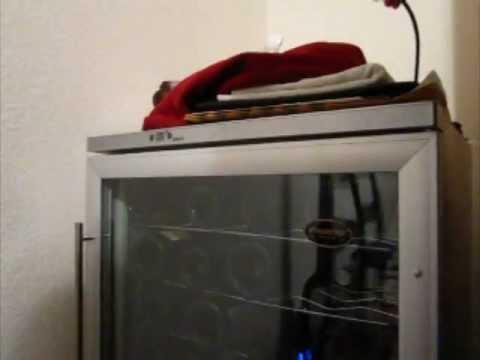 vinotemp vt60 wine fridge clicking noise solved - Vinotemp