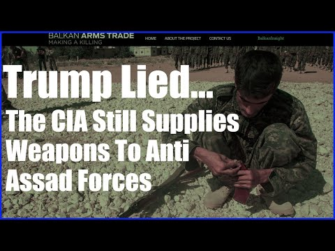 Bombshell Report Exposes Pentagon Arms Transfer To Syrian Rebels!