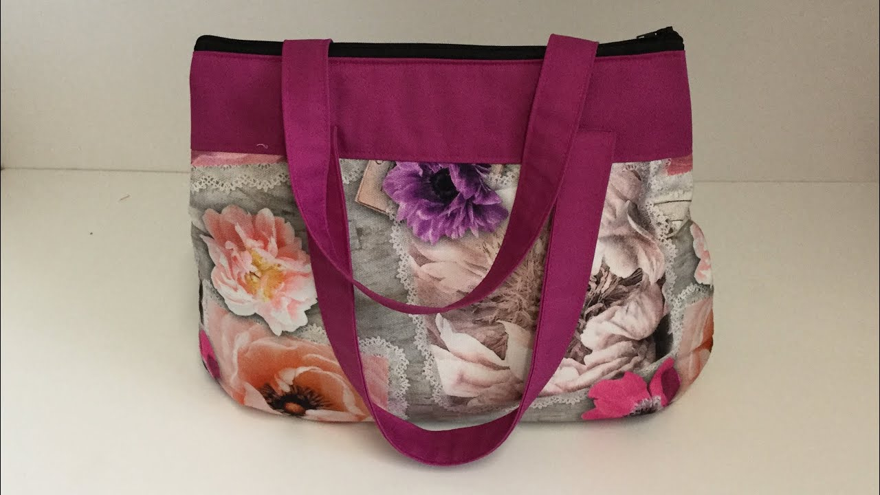 Coudre un petit sac à main arrondi Tuto couture Madalena
