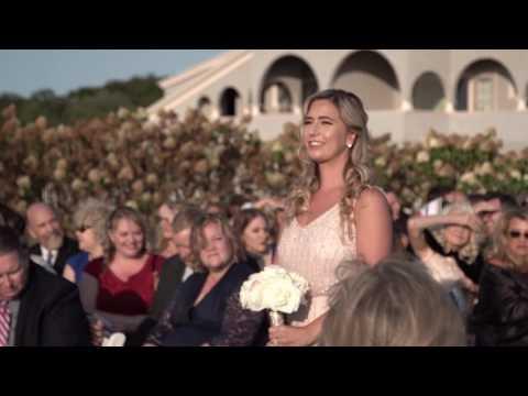 Lisa& Eric Oceancliff Ceremony