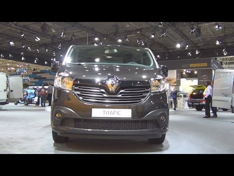 Renault Trafic Grand Combi Expression 2.9t ENERGY dCi 145 (2017) Exterior and Interior in 3D
