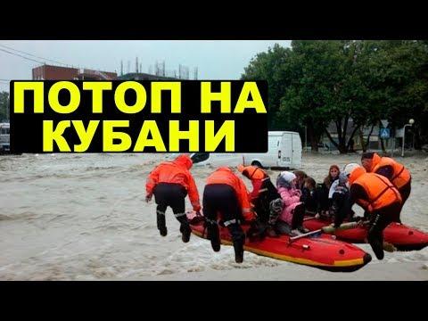 На Кубани потоп.