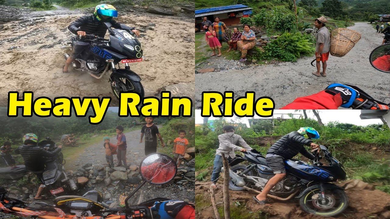 Random Muddy Ride Beni || CX vs Pulsar  || MRB Vlog