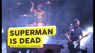 Video [HD] Superman Is Dead - Jadilah Legenda (Live at Super Music.Id 2018, Yogyakarta) download MP3, 3GP, MP4, WEBM, AVI, FLV Oktober 2018