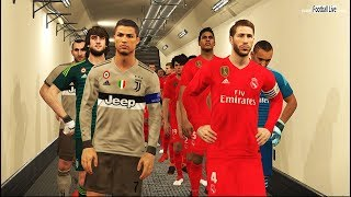 PES 2018 | Real Madrid vs Juventus FC | Full Match & Amazing Goals | Gameplay PC