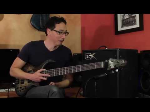 Gallien-Krueger MB 112 Combo Demo by Norm Stockton