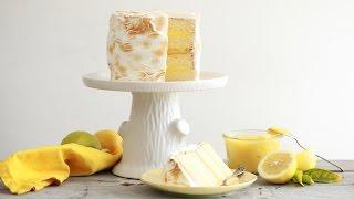 Lemon Meringue Cake - Gemma