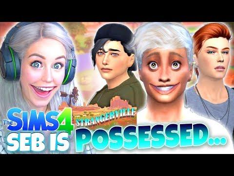 Moving to STRANGERVILLE... 🤪 (The Sims 4 StrangerVille #1)