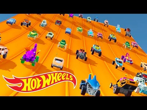 Hot Wheels Race Off - All Vehicles Unlocked & Fully Upgraded (Best android games 2017)