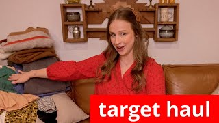 HUGE Target Haul: Smart Casual Work Outfits