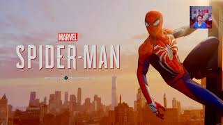 La voix Francaise de Spiderman joue a Spiderman...