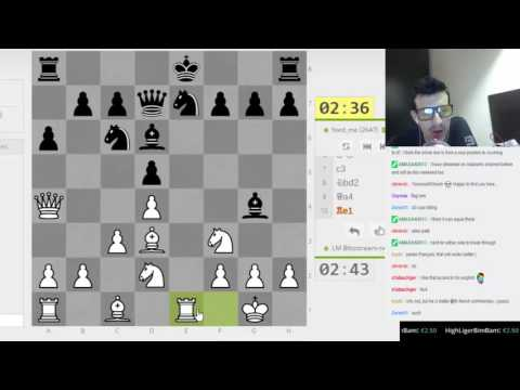 A long chess match on Lichess.org against a tought opponent