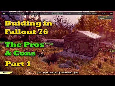 Building in Fallout 76 - The Pros & Cons - Part 1 thumbnail