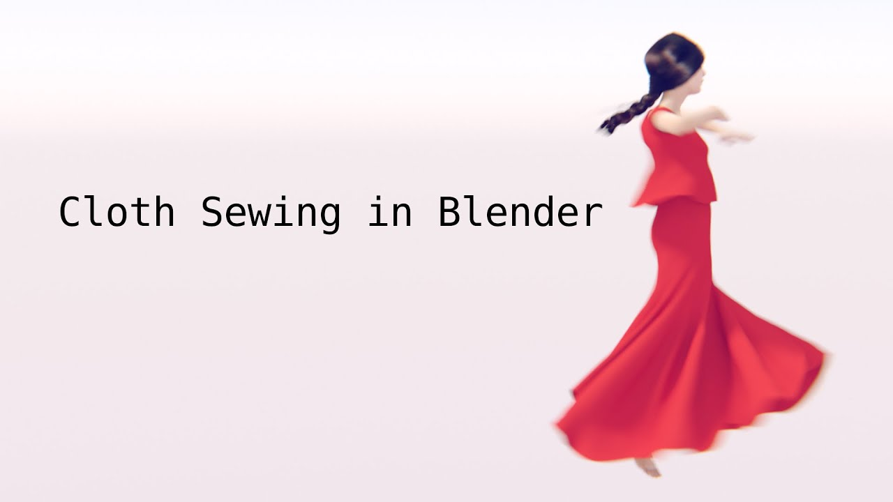 dress style hair in blender