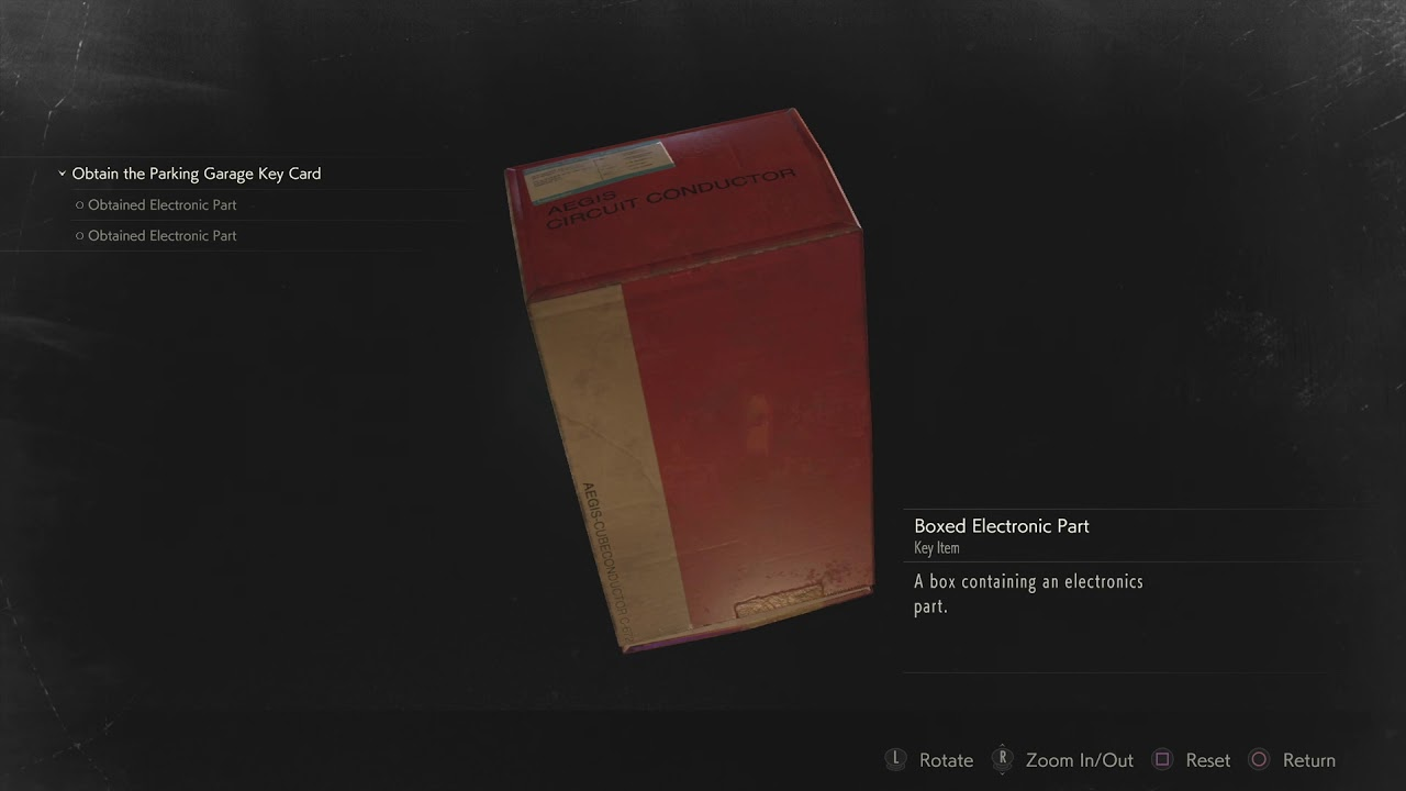 How to Solve Electronic Door in Jail (Boxed Parts), Resident Evil 2