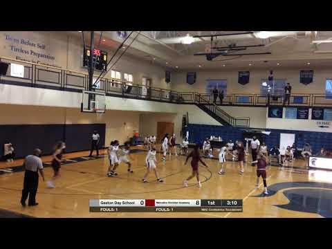 GDS vs  Metrolina Christian Academy 2/11/2021 Conference Tournament