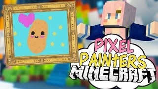 Kawaii Nyan Potato | Pixel Painters | Minecraft Art Minigame