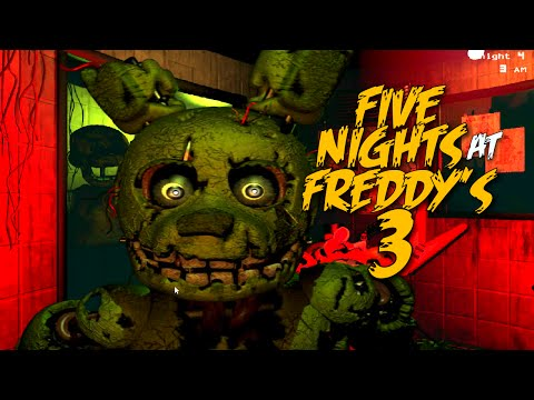 GOT ME F#%KED UP! [FIVE NIGHTS at FREDDY'S 3] [Nights 1-4]