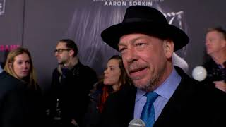 Mollys Game NY Premiere  Bill Camp interview