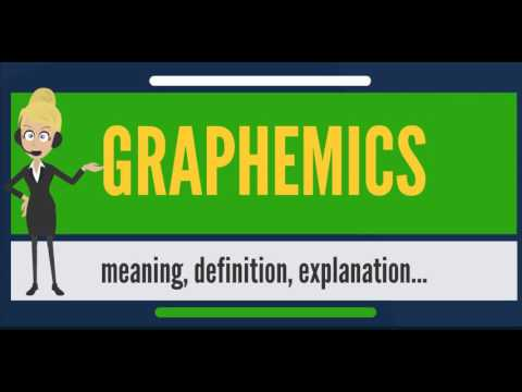 What is GRAPHEMICS? What does GRAPHEMICS mean? GRAPHEMICS meaning, definition & explanation