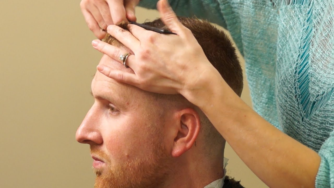 HOW TO CUT A HIGH AND TIGHT short tapered mens haircut