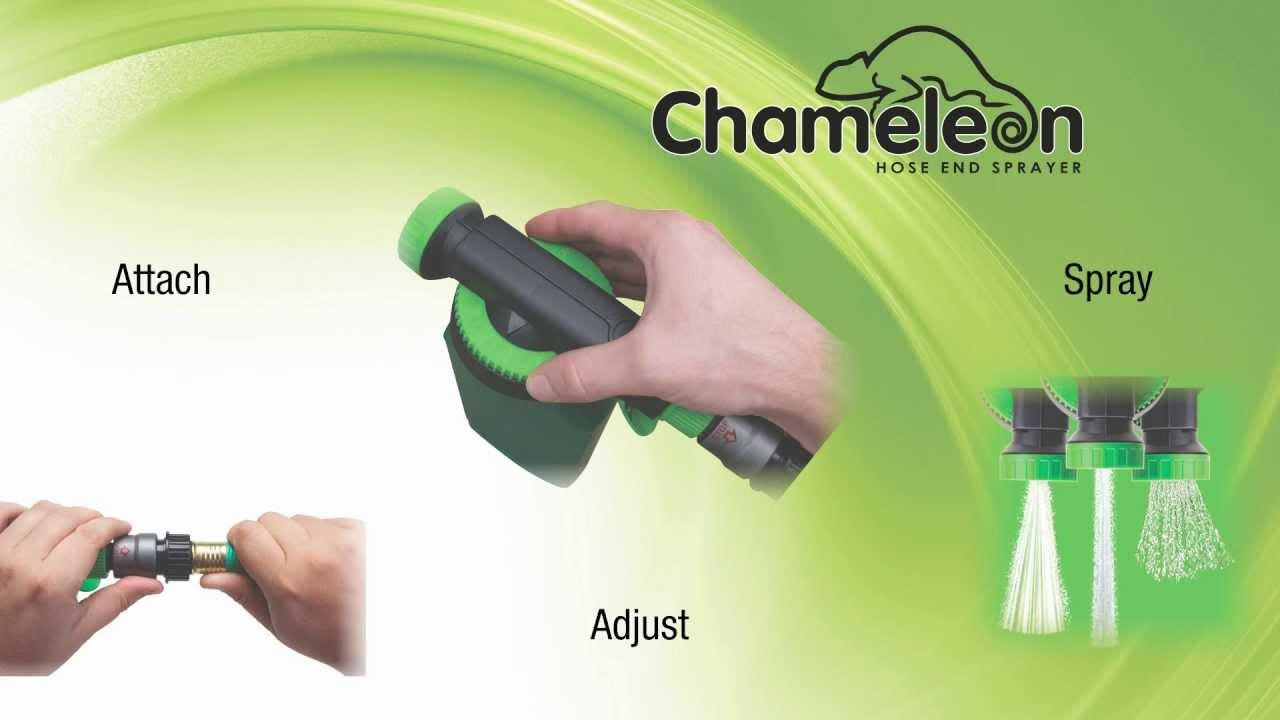 Hudson® CHAMELEON™ Hose End Sprayer Video Overview