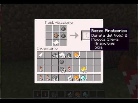Come Fare I Fuochi Dartificio Su Minecraft Youtube