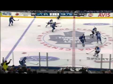 St. Louis Blues vs Toronto Maple Leafs 25.03.2014