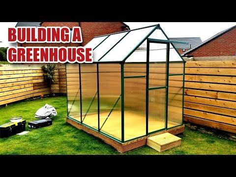 Building an Aluminium / Polycarbonate Greenhouse [12]
